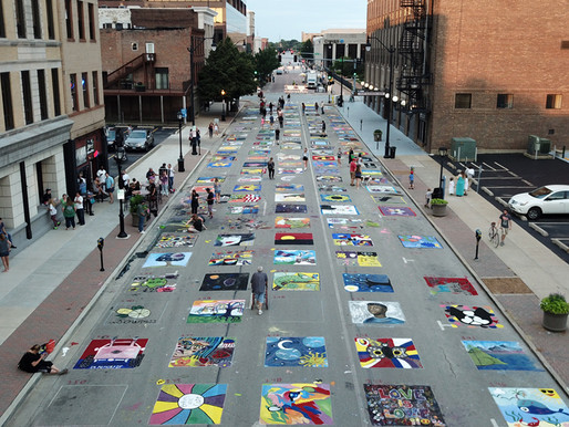 Record Attendance at Paint The Street 2019