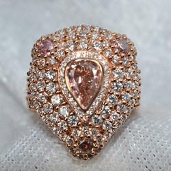 Diamond Rose Gold Ring Appraisal