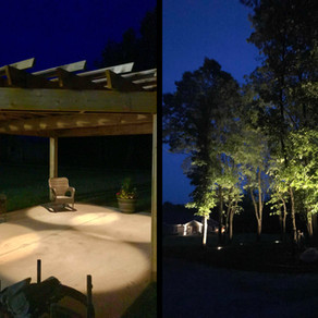 Pergola & Tree Lighting