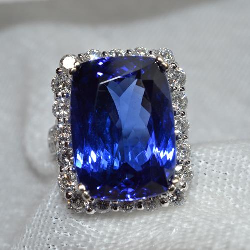 Blue Stone Diamond Ring Appraisal
