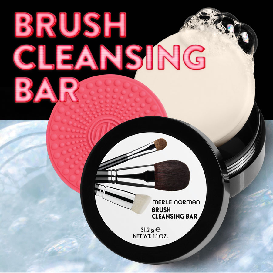 BRUSH CLEANSING BAR
