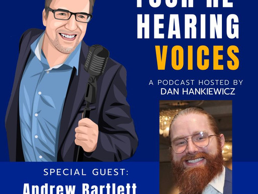 OOT Box owner, Andrew Bartlett, is featured on You're Hearing Voices Podcast
