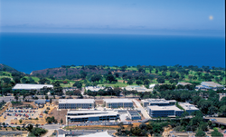 Sanford Burnham Prebys campus, overhead view