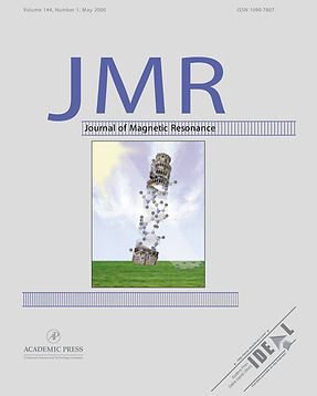 """Journal of Magnetic Resonance"" cover; A solid-state NMR index of helical membrane protein structure and topology"