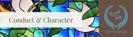 Module 3 Conduct and Character Header_ed