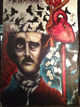 """Poe"" Art All Night (with MEK)"