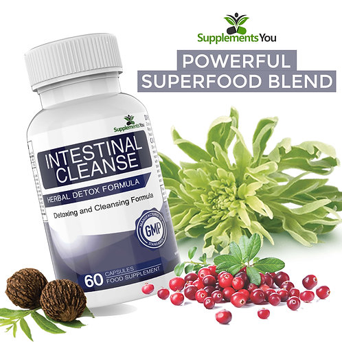 Intestinal Cleanse - Black Walnut & Wormwood, Protect the digestive system