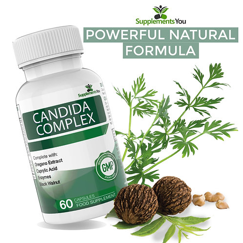 Candida Complex - Reduces and Cleanses yeast, candida and thrush