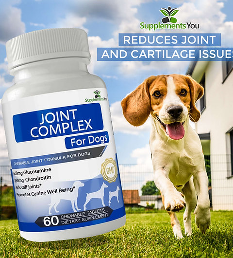 Joint Complex for Dogs Reduces joint and cartilage issues for man's best friend