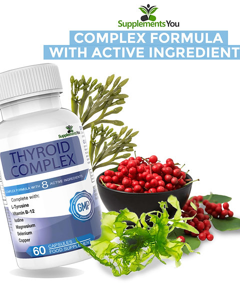 Thyroid Complex - Perfect For Treating Under And Over Active Thyroid Imbalance