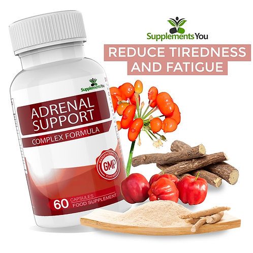 Adrenal Support - Reduce Tiredness and Fatigue
