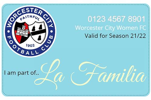 Worcester City Women FC 21/22 Season Ticket