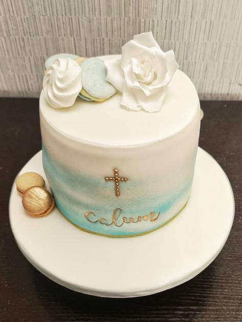 Calum Communion Cake