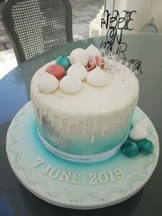 Abbie Communion Cake