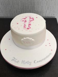 Cross Communion Cake