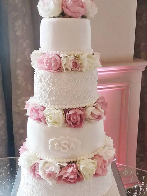 Sarah Wedding Cake