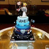 Festival/Dublin GAA Wedding Cake