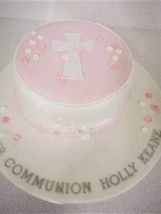 Holly Communion Cake
