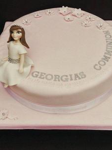 Georgia Communion Cake