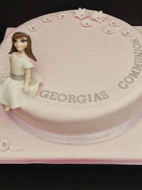 Georgia Communion Cake