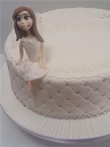 Miranda Communion Cake