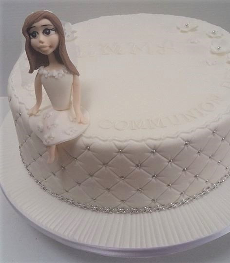 Miranda Communion Cake