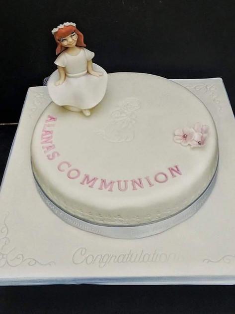 Allana Communion Cake