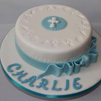 Charlie Communion Cake