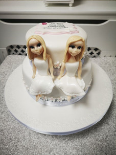 2 Sisters Communion Cake