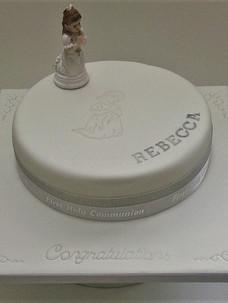 Rebecca2 Communion Cake
