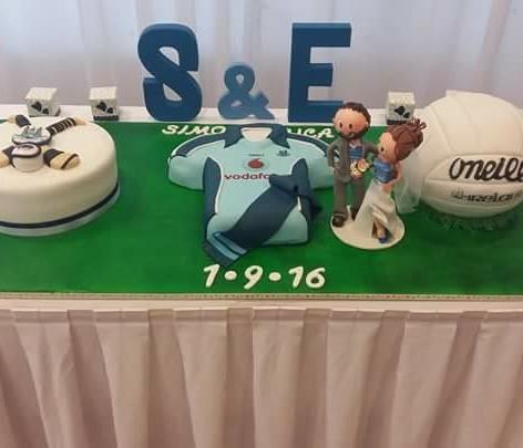 GAA Wedding Cake