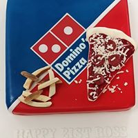 Pizza Box Cake