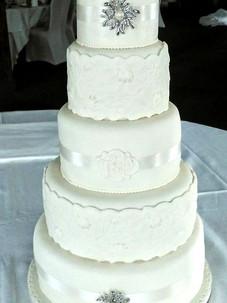 Ophelia Wedding Cake