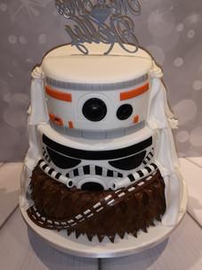 Star Wars Cake Part 2