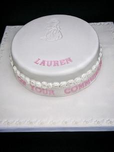 Lauren Communion Cake