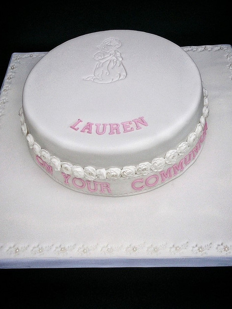 Lauren Communion Cake