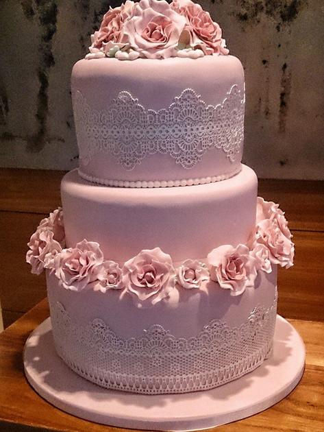 Polly Wedding Cake