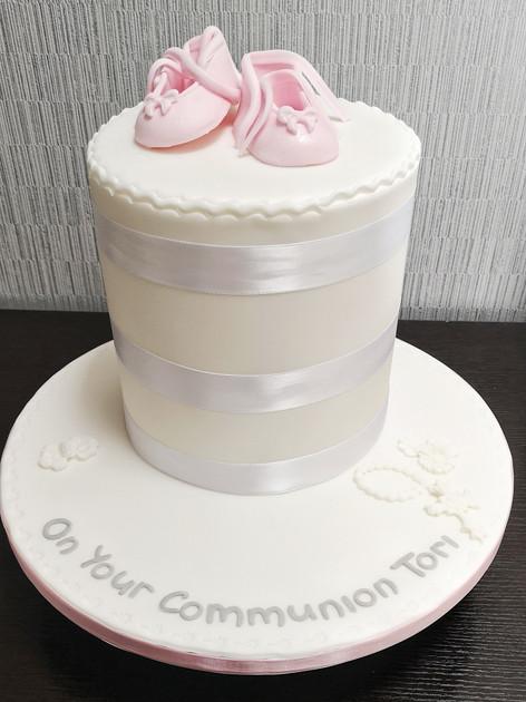 Ballet Communion Cake