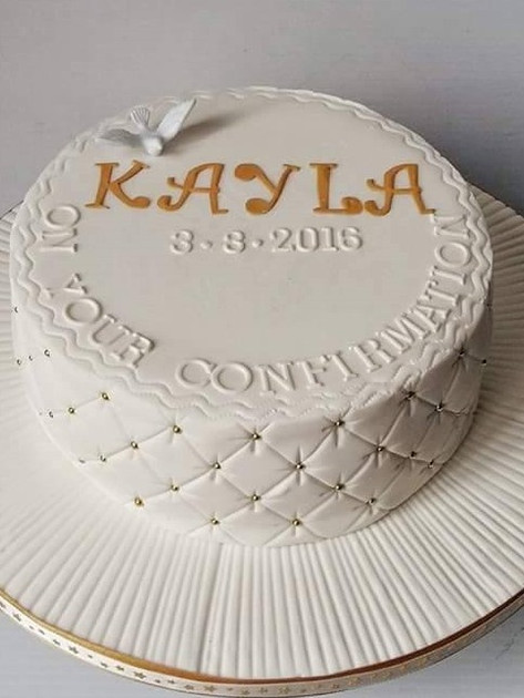 Kayla Communion Cake