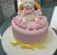 Pink Rainbow Bunny