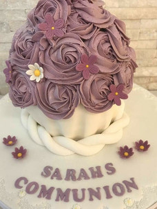 Sarah Communion Cake