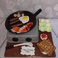 Frying Pan Cake