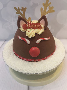 Reindeer Pudding Cake