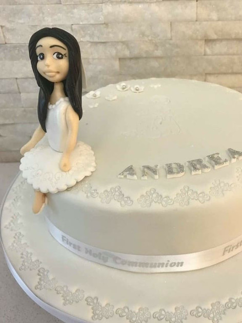 Andrea Communion Cake