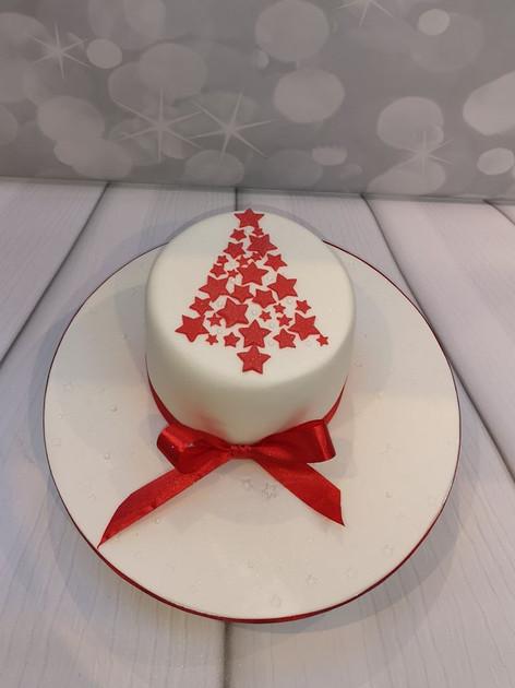 Star Tree Cake