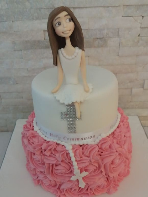 Sophia Communion Cake