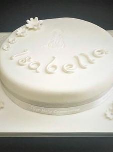 Isabelle Communion Cake