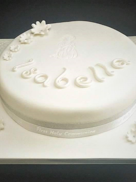 Isabelle Communion Cake