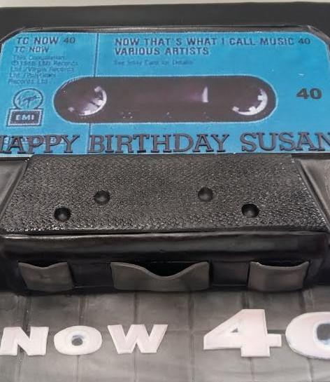 Casette Tape Cake