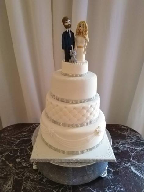 Petrina Wedding Cake